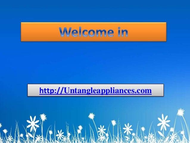 http://Untangleappliances.com