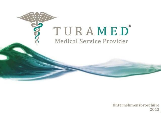 TURAMED GmbH - Medical Service Provider - internationaler Medizintourismus in Deutschland - Unternehmensbroschüre