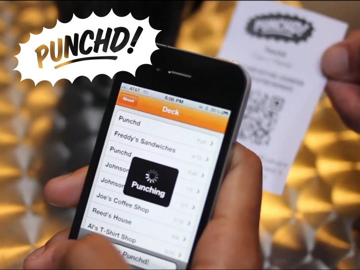 Loyalty Punch Cardson your smart phone RPuecddMonrese  e n h Fou d r