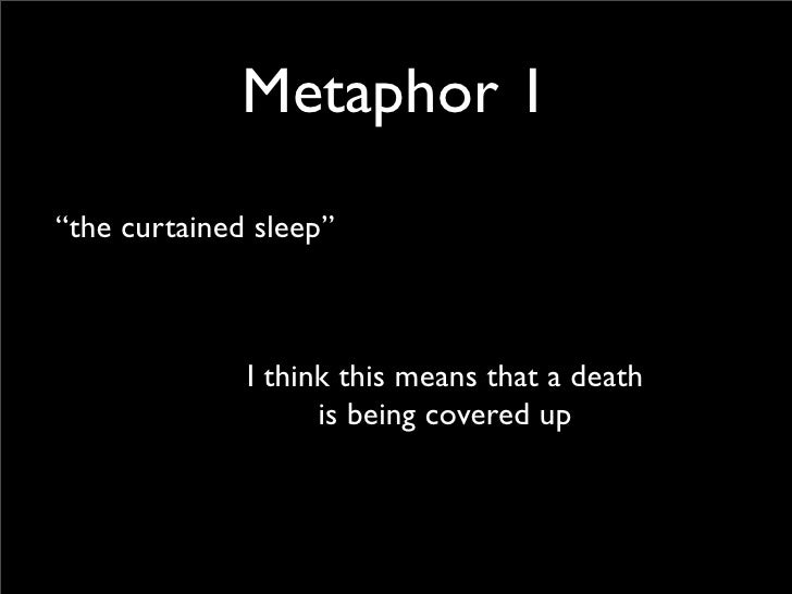 the metaphors in the play macbeth Lord macduff, the thane of fife, is a character in william shakespeare's macbeth (c1603-1607) macduff plays a pivotal role in the play: he suspects macbeth of regicide and eventually kills macbeth in the final act.
