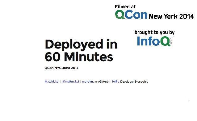 Deployed in 60 Minutes: Increasing Production Deployments from Six Months to Every Hour