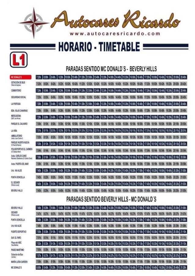 horarios del servicio de autobuses urbanos de estepona