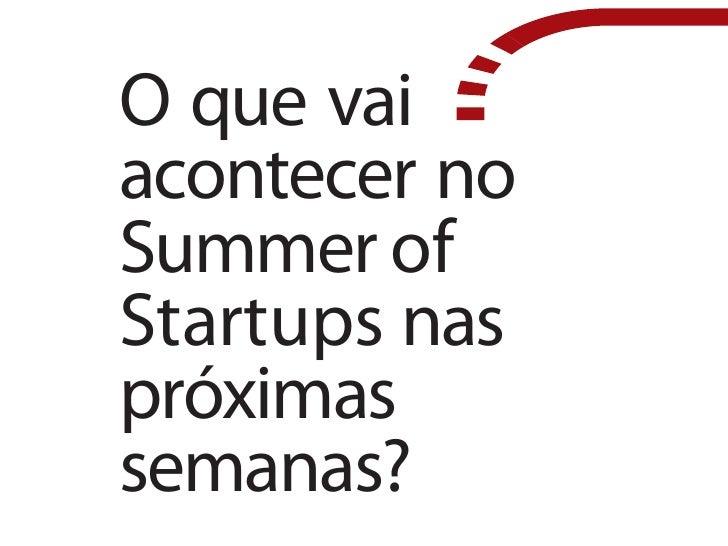 FastStart Summer of Startups