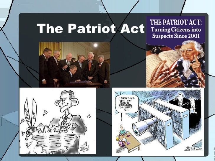 Patriot Act Essay