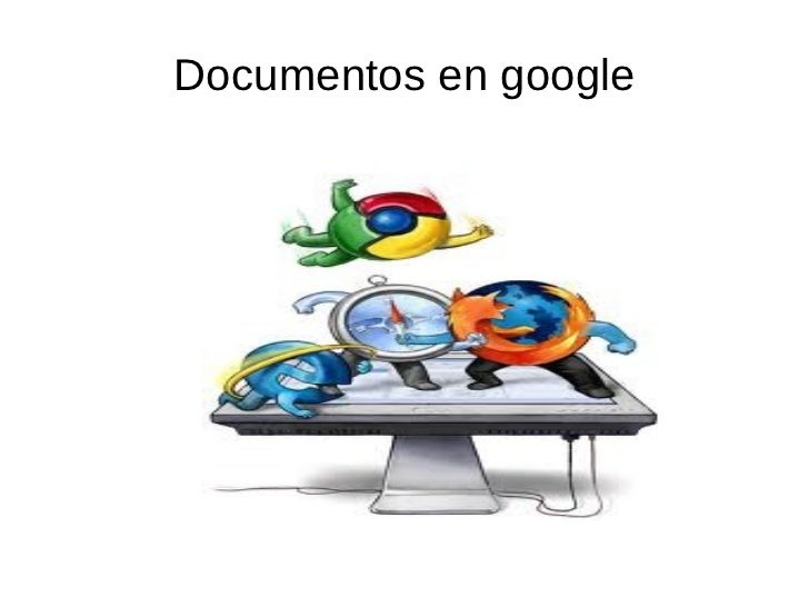 Documentos en google
