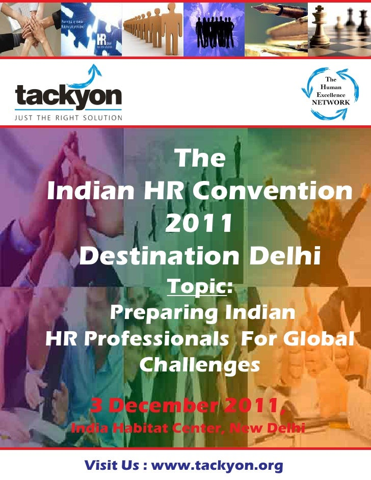 Indian HR Convention 2011 - Destination New Delhi