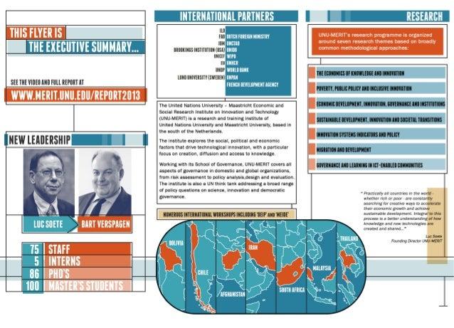 Unu merit flyer report 2013 vv