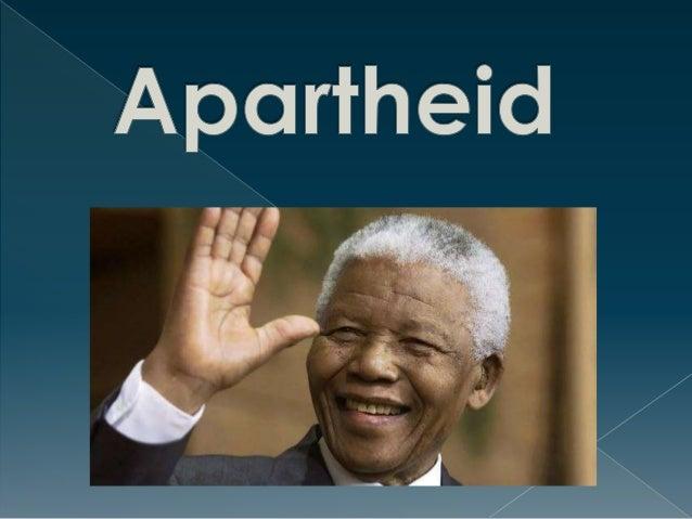  O termo apartheid se refere a uma  política racial implantada na África do  Sul. De acordo com esse regime, a  minoria b...