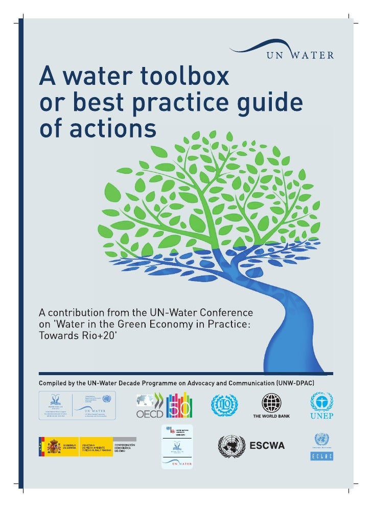 UN Water Toolbox for Rio+20