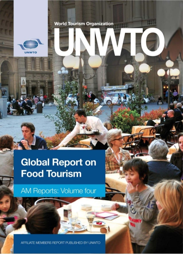 Un wto global report on food tourism