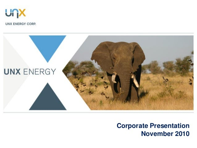 Corporate Presentation November 2010