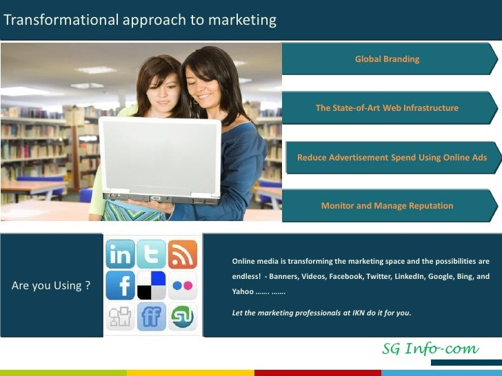 Internet Marketing Strategy Implementation &   Value Proposition Transformational approach to marketing Global Branding Th...