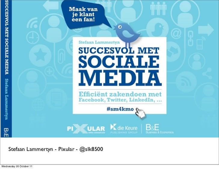 Succesvol met sociale media