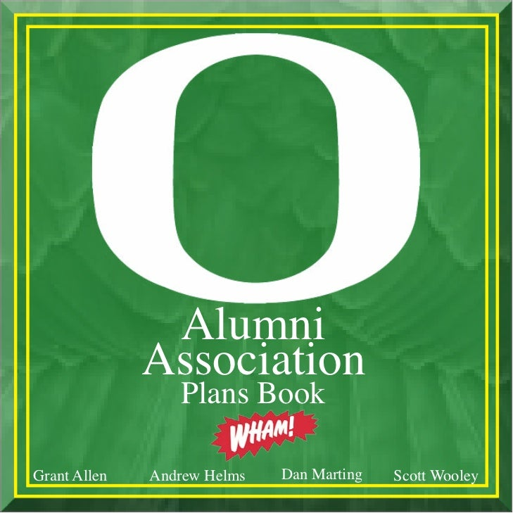 UOAA Plans Book