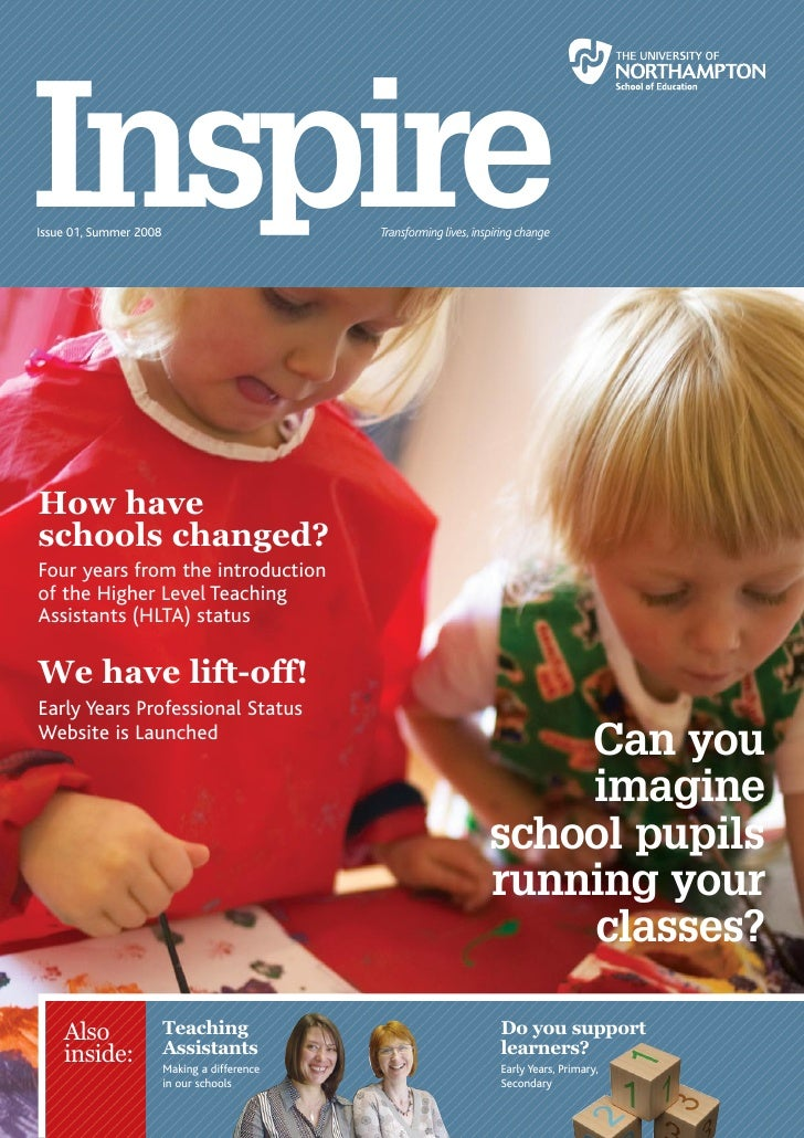 Education Inspire magazine Issue01