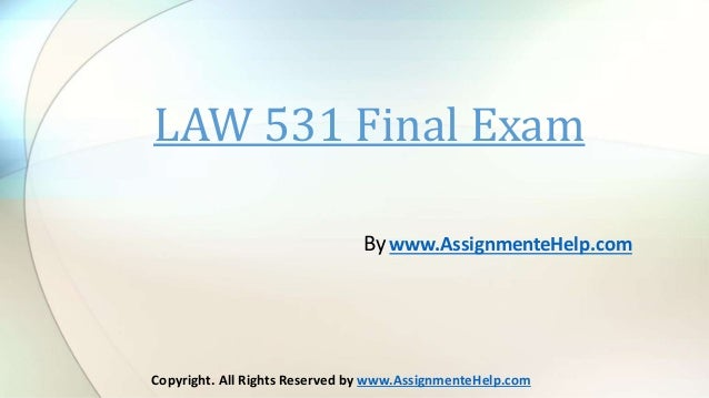 business law assignment final Assignment provisions in contracts  see also the discussion of this opinion by katherine jones of the sheppard mullin law firm assignment  in its business.