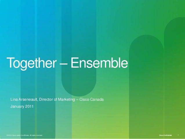 U ottawa e mba_mba_bcomm keynote _lina arseneault jan 2011