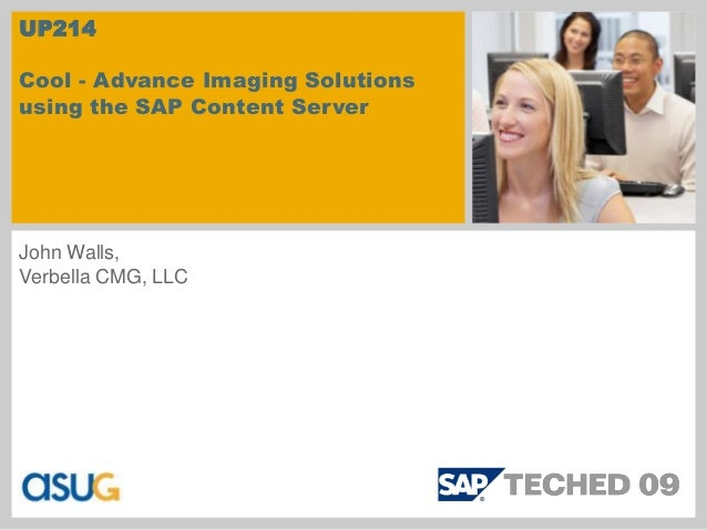 Advance Imaging Solutions using the SAP Content Server