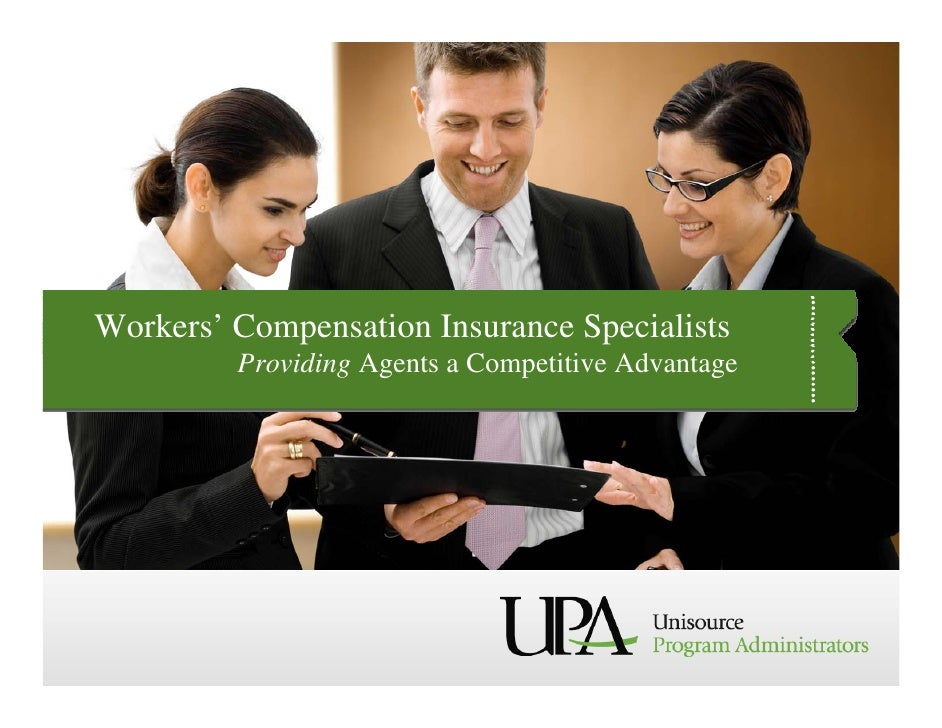 Workers' Compensation Insurance Specialists          Providing Agents a Competitive Advantage