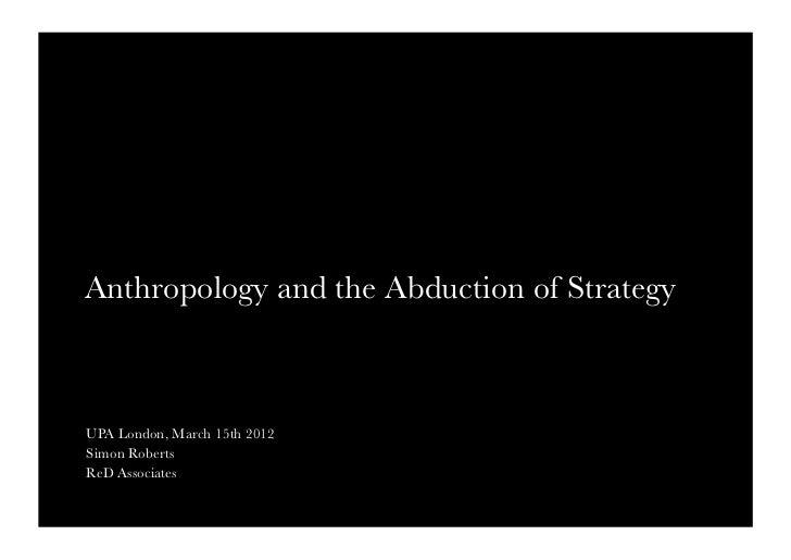 Simon Roberts' UKUPA Ethnography Presentation