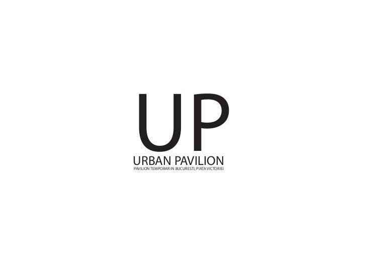 UP -  URBAN PAVILION