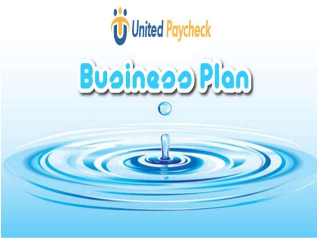 United Paycheck - Business Plan