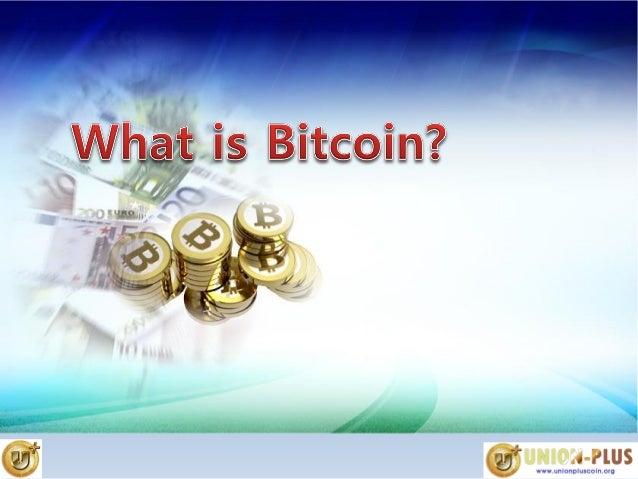 Union Plus Coin English Powerpoint presentation UPC