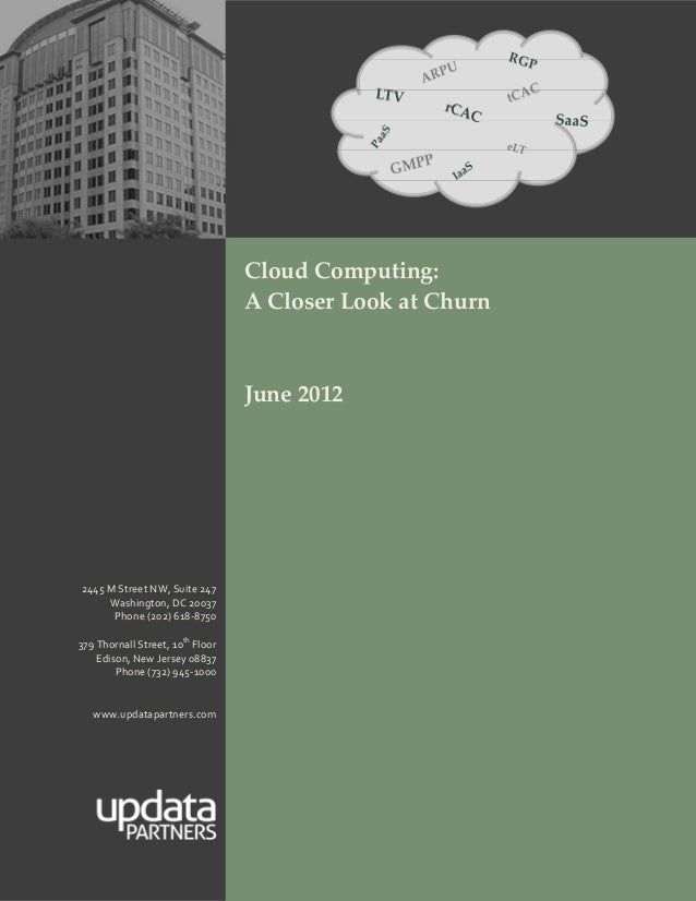 A Closer Look at Churn - June 2012