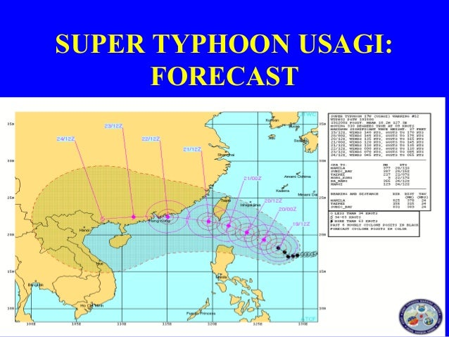 Update #2   Super Typhoon Usagi