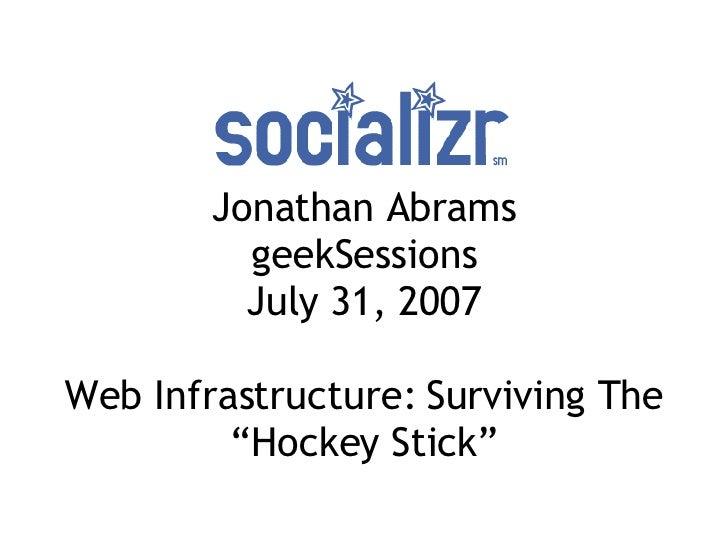Geek Sessions Talk