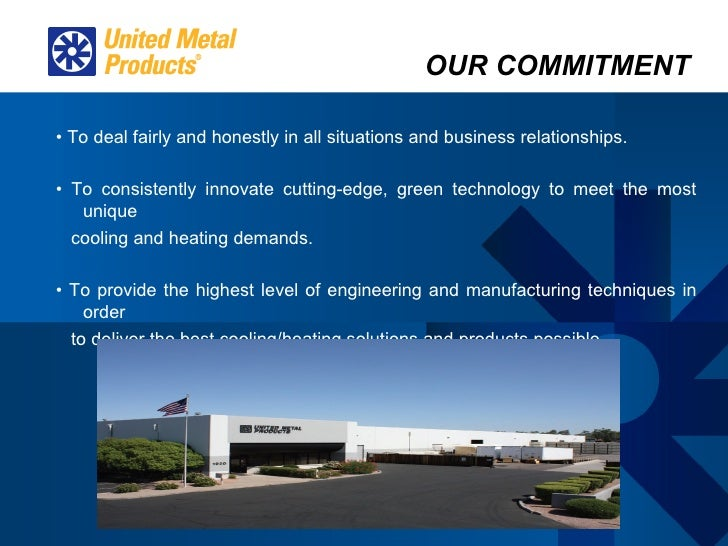 United Metal Products Powerpoint