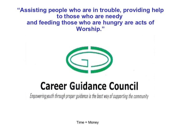 """"""" Assisting people who are in trouble, providing help to those who are needy  and feeding those who are hungry are acts of..."""