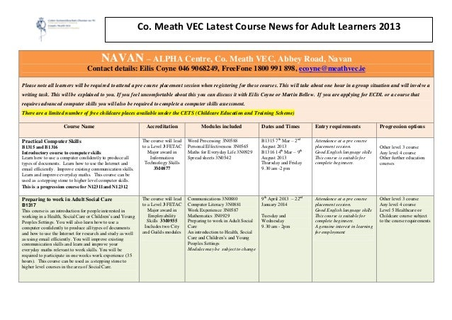 Updated course news 2012  navan kells trim and athboy