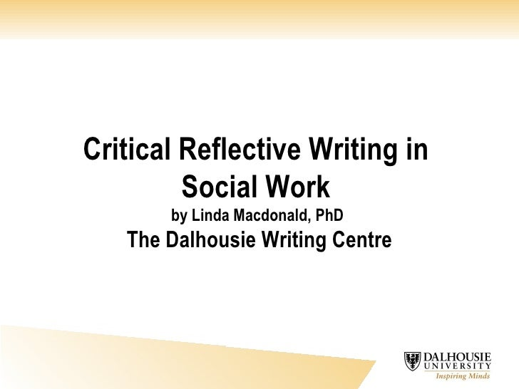 sample reflection paper on social work Reflection journals what is a reflection journal she's always so grateful as the work i do saves her from having to stay over an hour or so just to complete her paper work more social media sites.