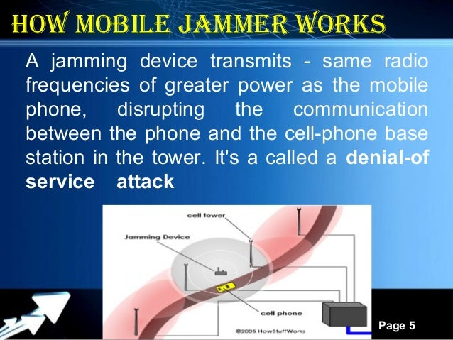 Cell phone jammer for car - cell phone jamming by law enforcement