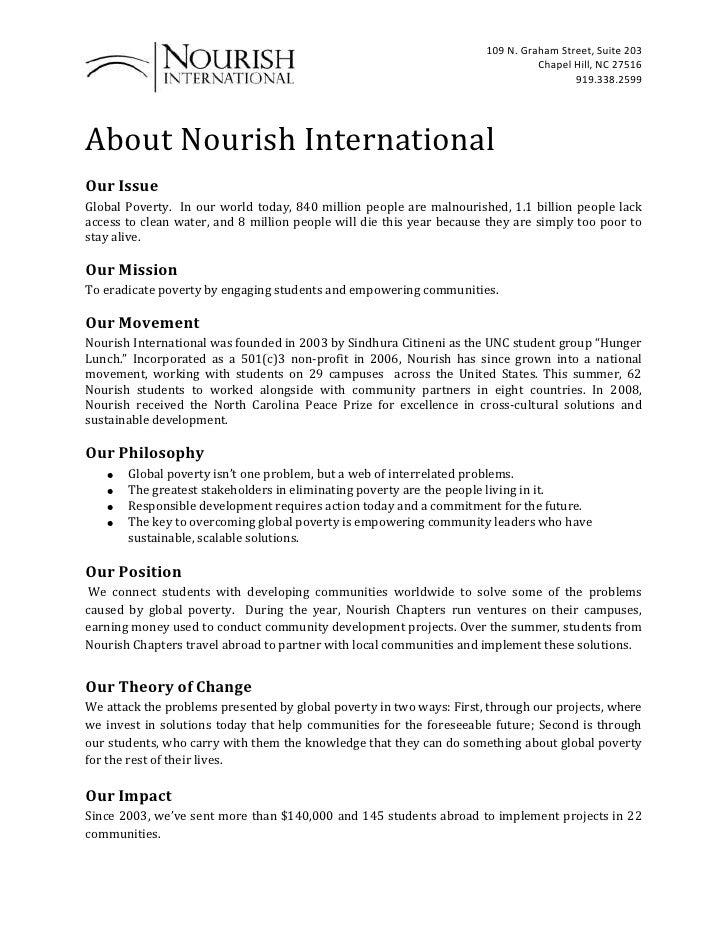 Updated Nourish Overview