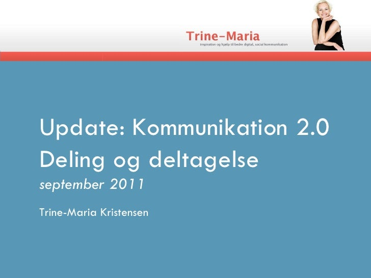 Update komm2 dag3_19september_2011