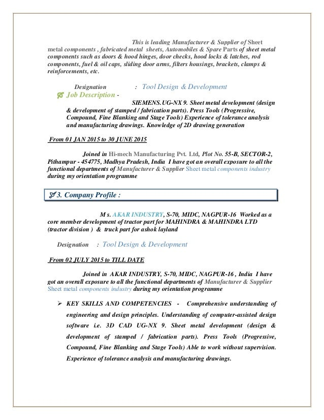 Mechanical Engineer Cover Letter Example Job Resume Samples .