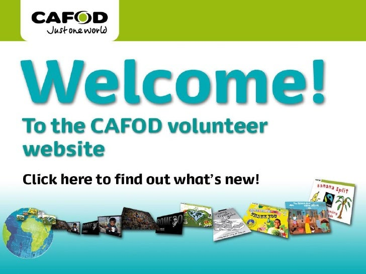 www.cafod.org.uk     Title of talk  Name of person giving  Date  www.cafod.org.uk