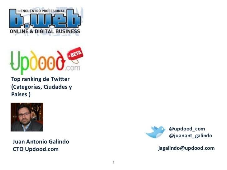 Updood.com Casos de Estudio en B-Web