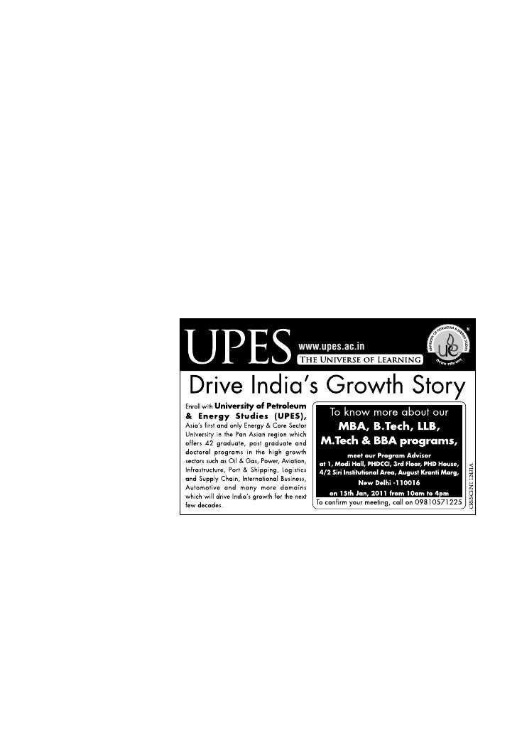 UPES Road Show & Counseling Meet-Delhi