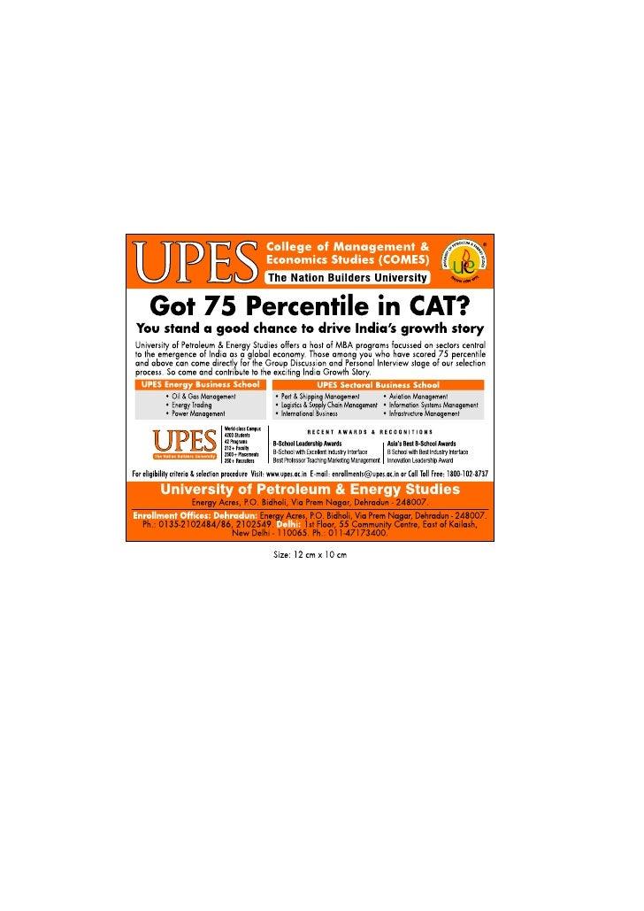 Got 75 Percentile in CAT??