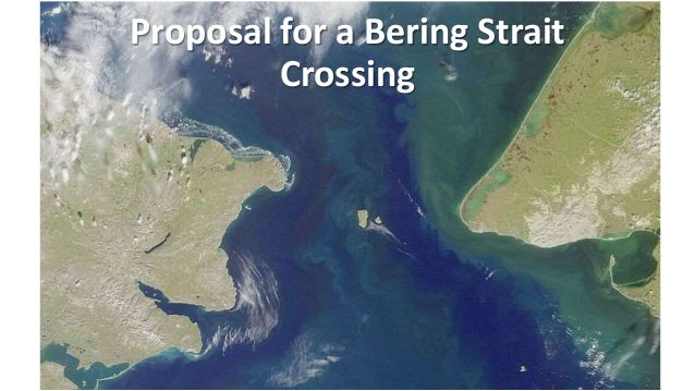 Bering Strait Crossing Proposal