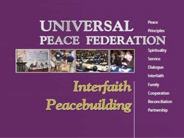 UPF Interfaith Peacebuilding