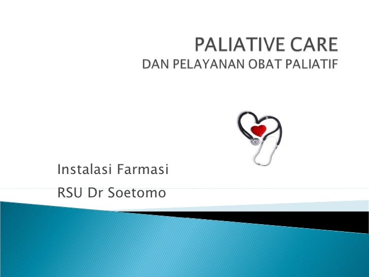 Paliative Care and Pahrmacist