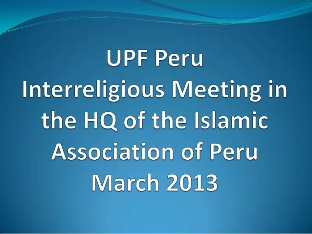 UPF and the President of the Christian Allianceprepare for the meeting
