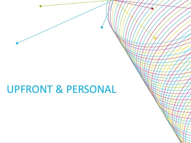 Webinar: Upfront and personal:  social media and the new ecosystem