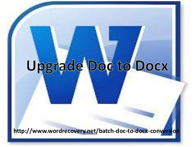 http://www.wordrecovery.net/batch-doc-to-docx-conversion