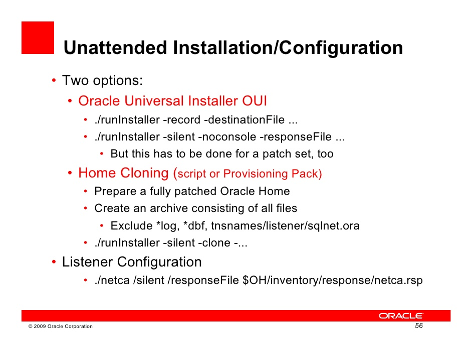 Oracle Upgrade11gr1 Workshop1