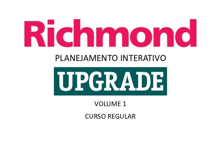 PLANEJAMENTO INTERATIVO        VOLUME 1      CURSO REGULAR